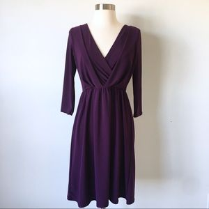 Gilli Purple Wrap Dress